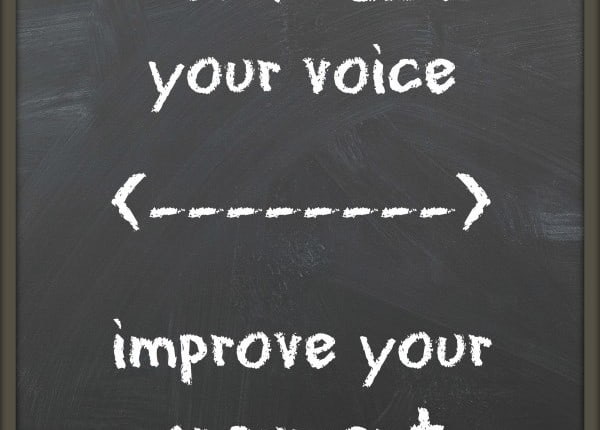 Don't raise your voice. Improve your argument. #quote