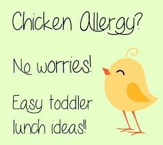 chicken allergy toddler