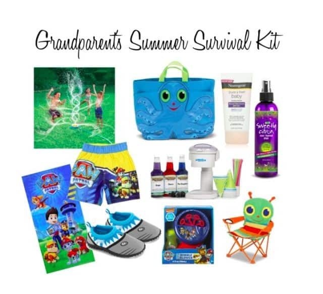 grandparent summer survival kit