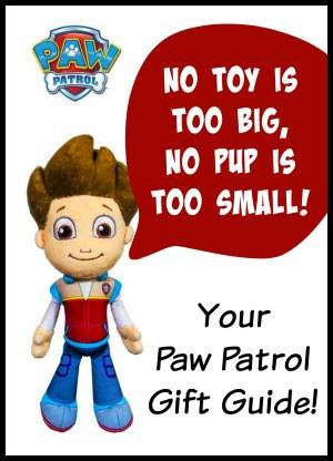 paw patrol sidebar banner