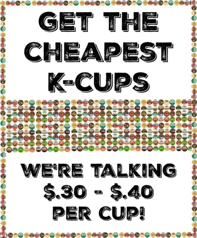 cheapest kcups pin