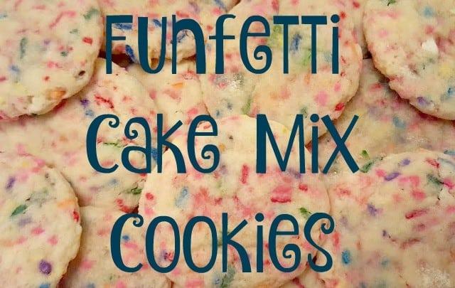 funfetti cake mix cookies 640