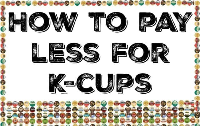 pay less for kcups
