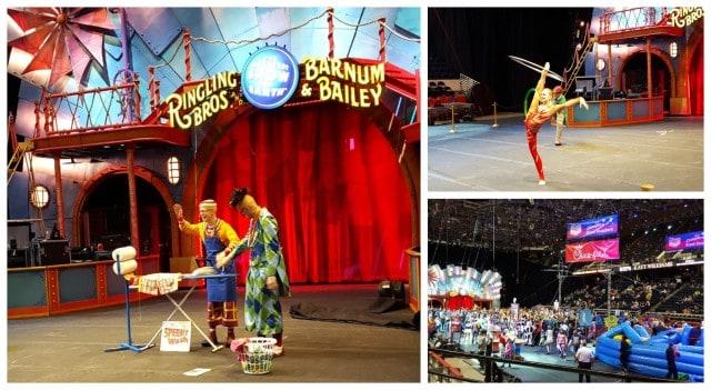 Ringling Bros Circus preshow