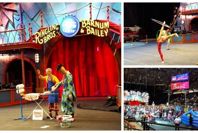 Circus preshow