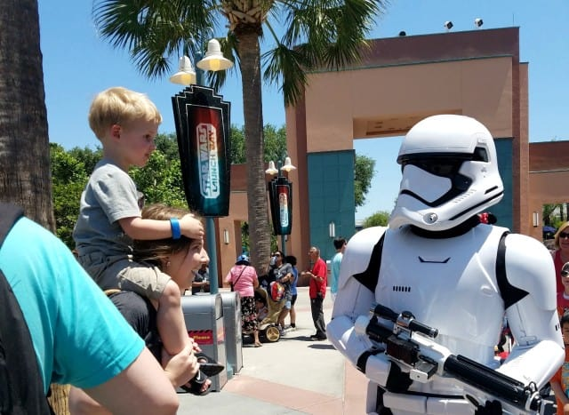 beck and storm trooper hollywood studios