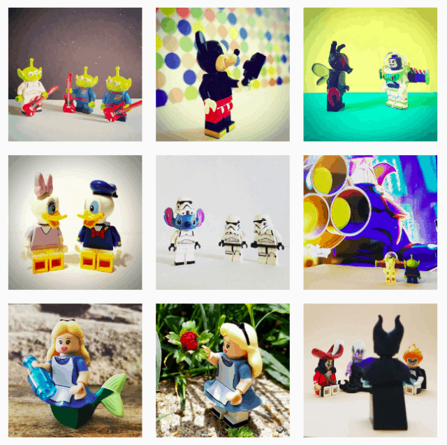 Disney toy photography