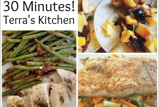 Terras Kitchen Meals in 30 Minutes