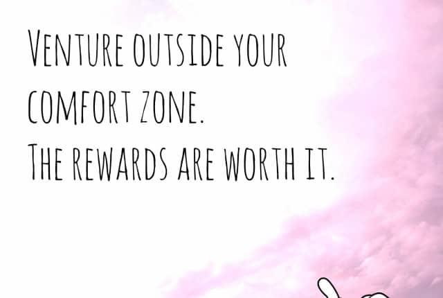 Rapunzel venture outside your comfort zone