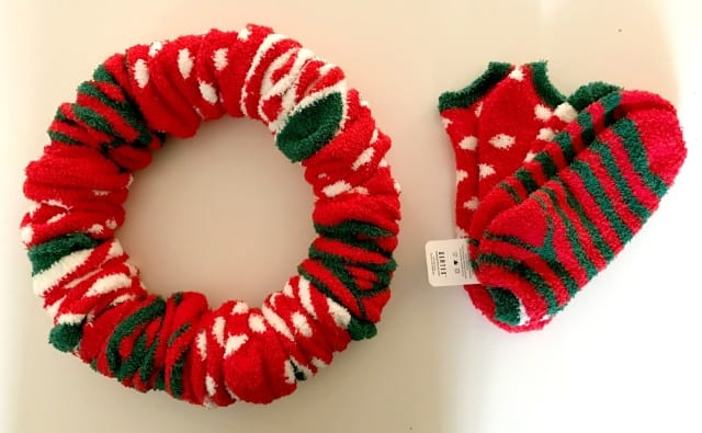 socks-and-wreath