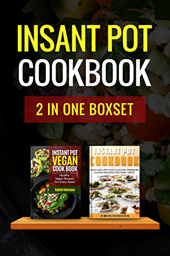 Instant pot cookbook boxset