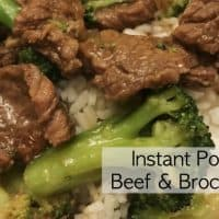 Best Beef and Broccoli in the Instant Pot