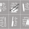 Funny Kitchen Printables that are Puntastic