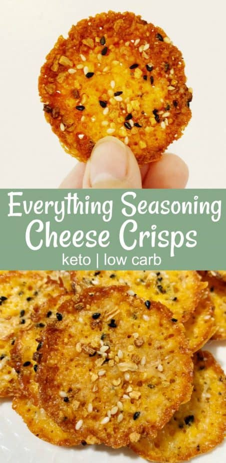 everything seasoning cheese crisps pin