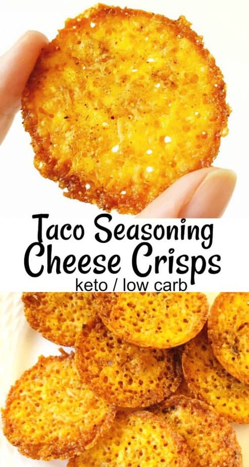 taco cheese crisps pinterest