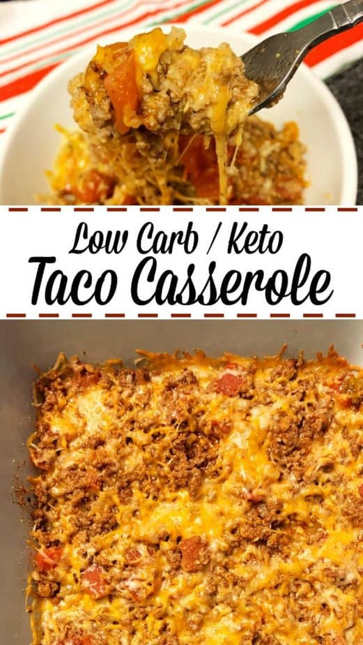 taco casserole beef cheese pin
