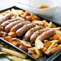 Sheet Pan Sausage Dinner