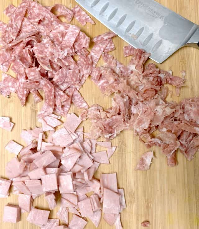 chopped ham for casserole