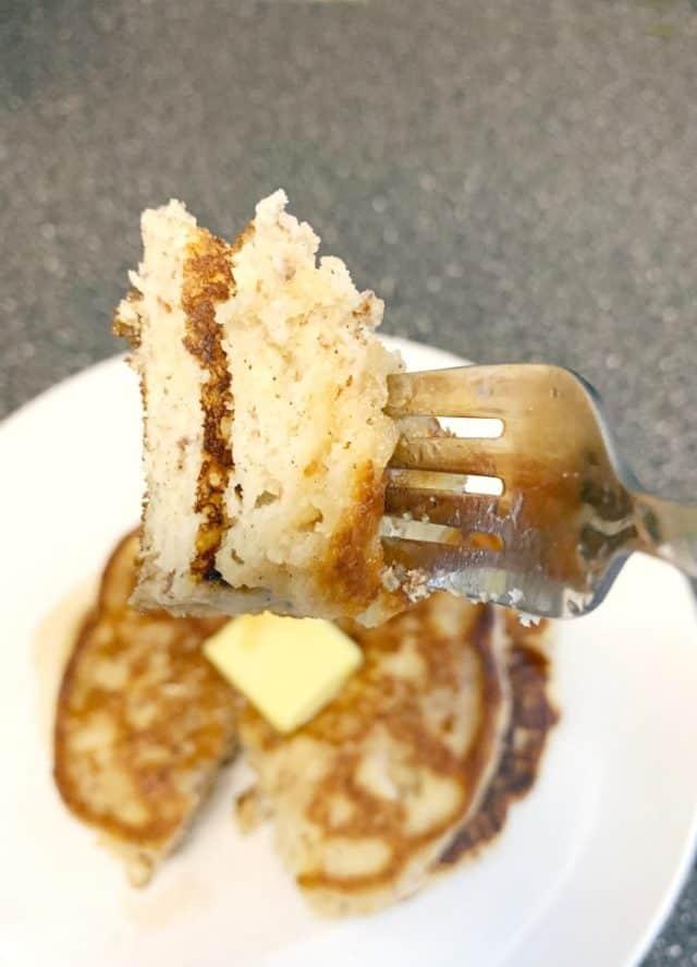 low carb pancake bites