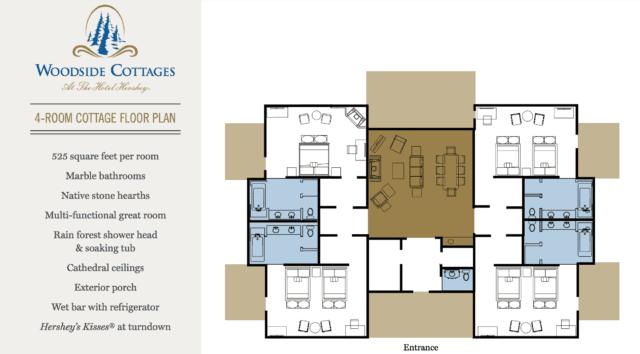 floorplan of hershey woodside cottages
