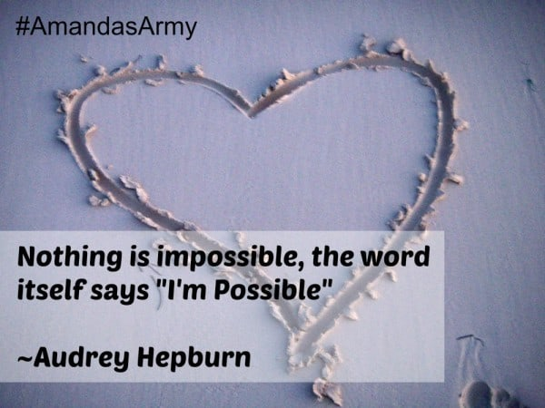 nothing is impossible #quote
