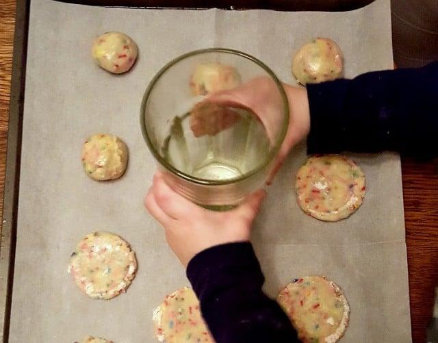 funfetti cookies pan