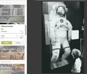 editing black and white pictures with PicMonkey photo effects