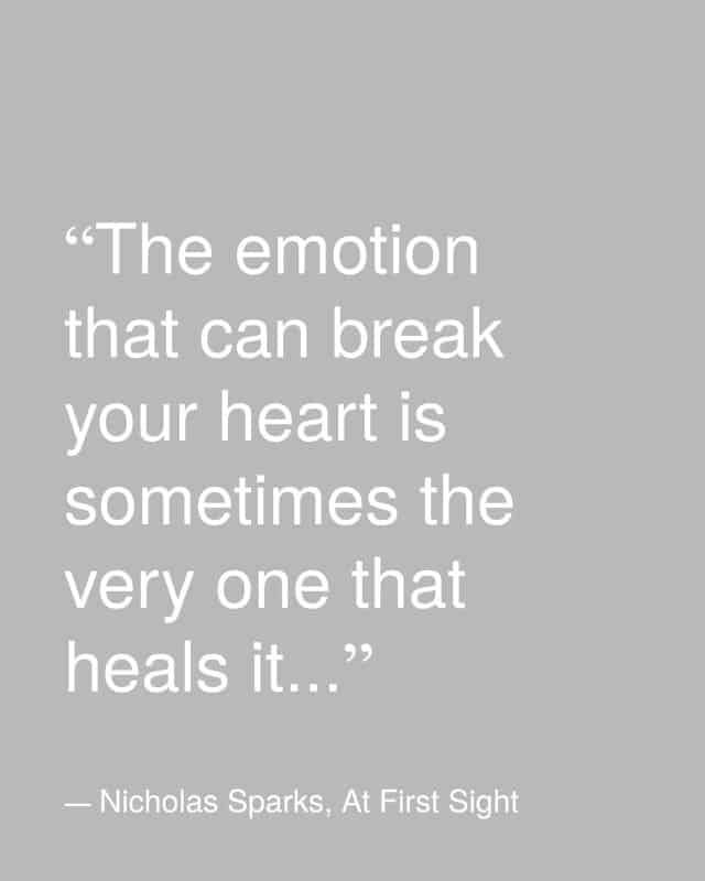 emotion that breaks your heart