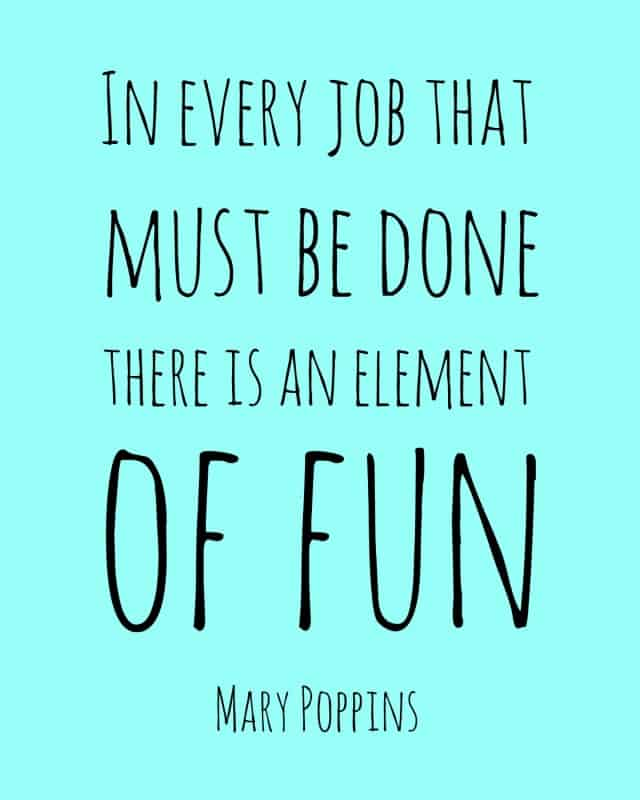 Mary Poppins fun quote