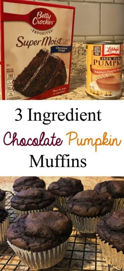 3-ingredient-chocolate-pumpkin-muffins