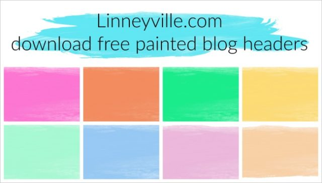 painted blog header download