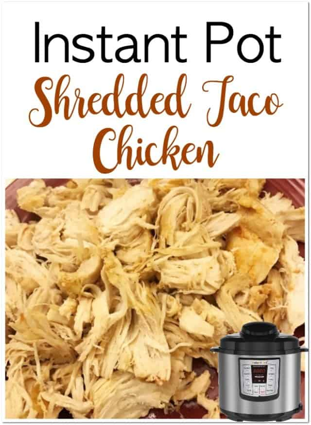 taco chicken instant pot pin