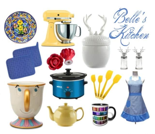 belle beauty and beast kitchen