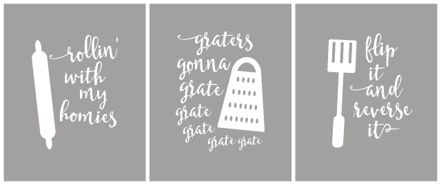 Funny Kitchen Printables That Are Puntastic Linneyville