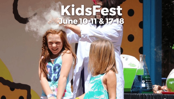 KidsFest at Kings Dominion 2017