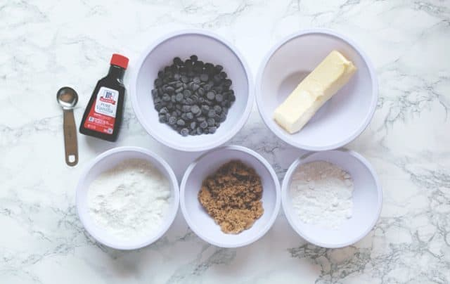 ingredients for fat bombs with coconut flour