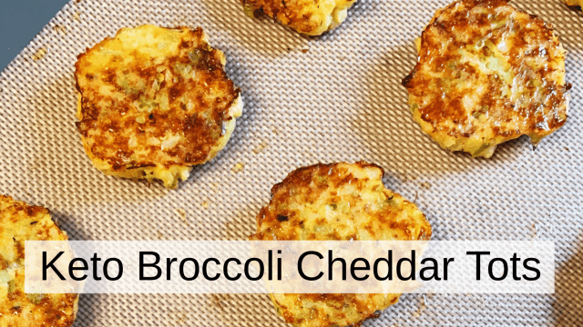 Broccoli Cheddar Tots – Keto & Low Carb