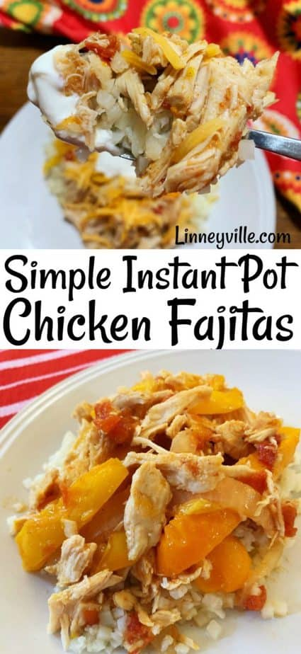 chicken fajita over cauliflower rice