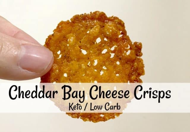 old bay cheese crisps high protein low carb