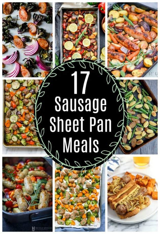 sausage sheet pan meals