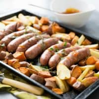 Sheet Pan Sausage Dinner