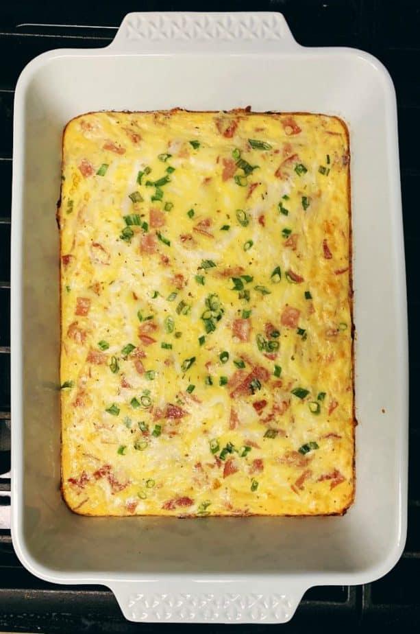 italian breakfast egg casserole