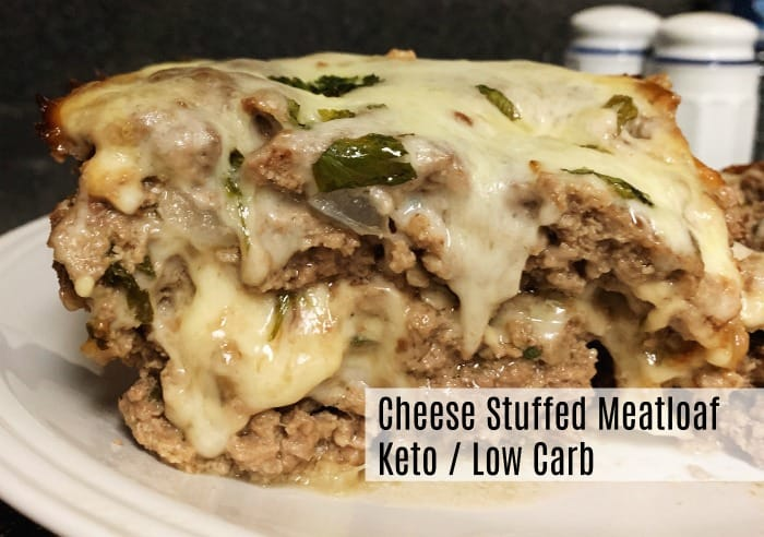 Stuffed Meatloaf – Keto / Low Carb