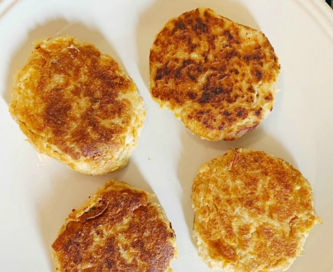 Low Carb Old Bay Tuna Cakes