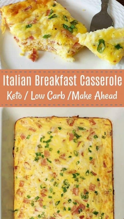 italian egg breakfast casserole