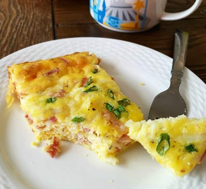 Italian Breakfast Casserole – Keto / Low Carb / Make Ahead