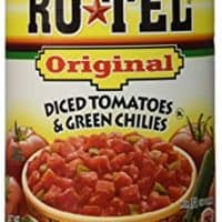 Ro Tel Original Tomato Diced Green Chili, 10 Ounce, (Pack Of 4)