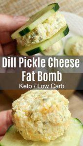 dill pickle fat bomb pin
