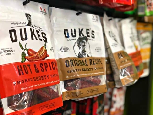dukes smoked shorty sausages