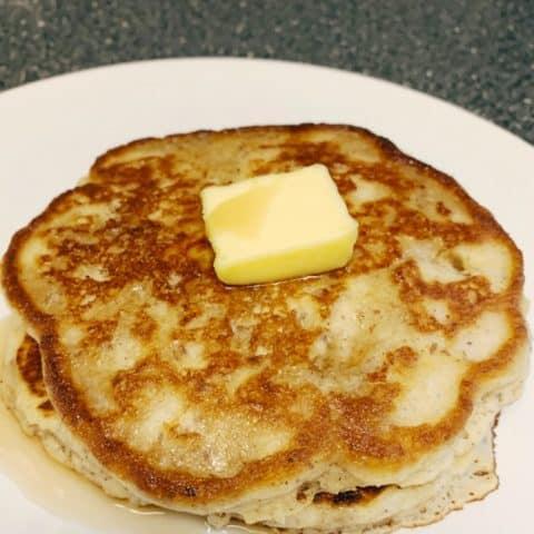 carbquik low carb pancake stack